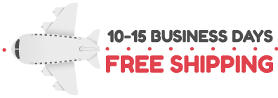Free Shipping in 10 to 15 Business Days
