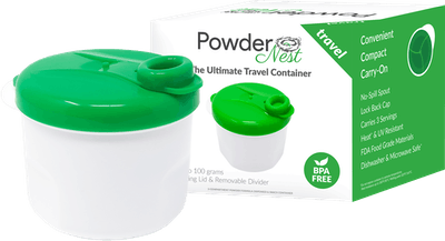 Powder Nest Air-tight Safe and Durable Pantry Container for Infant Baby Formula